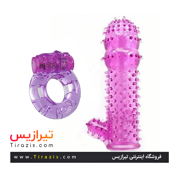 خرید اینترنتی کاندوم ژله ای ویبره دار پک کاملا بهداشتی سری جدید از فروشگاه اینترنتی تیرازیس