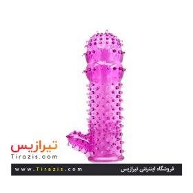کاندوم خاردرشت ژله ای درجه یک (چند بار مصرف) صورتی